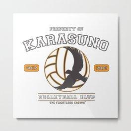 Team Karasuno Metal Print