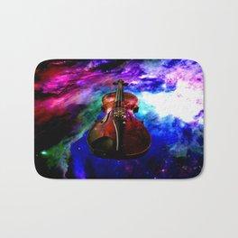 violin nebula Bath Mat