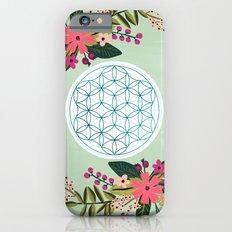 Sacred Geometry 2, Flower of Life iPhone 6s Slim Case