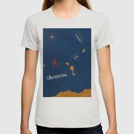L'avventura, Monica Vitti, Michelangelo Antonioni, italian cinema, film, sea adventures, hollywood T-shirt