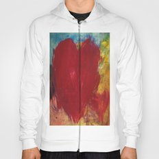 Blood Red Love Hoody