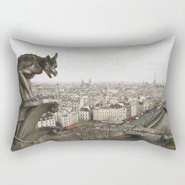 Gargoyle of Notre Dame Rectangular Pillow