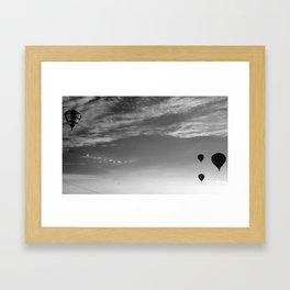 Balloon Bash 2012 Framed Art Print