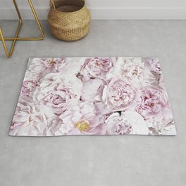 BED OF FLOWERS - PEONY PINK Rug