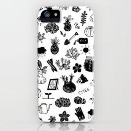 caudex mania ver.2 iPhone Case