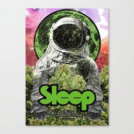Sleep : The Botanist Canvas Print