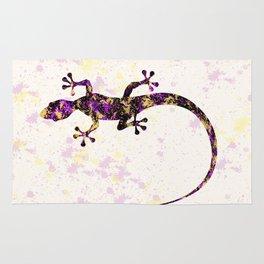 Abstract Lizard Rug