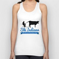 indiana Tank Tops featuring Ski Indiana  by Westfield ski and snowboard club