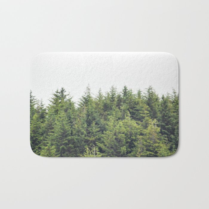 Verdant Tree Tops Bath Mat