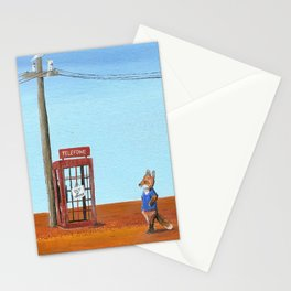 The Out of Service Phone Box Stationery Cards