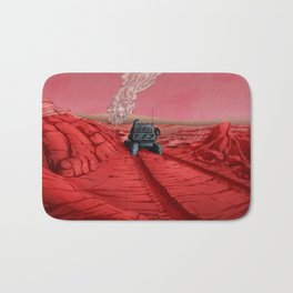Green Mars Bath Mat