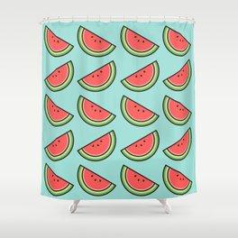 Watermelon Pattern Shower Curtain
