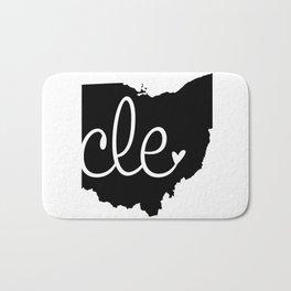 Love Cleveland Bath Mat