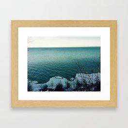 Lion's Den Gorge Framed Art Print