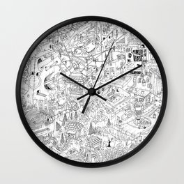 Endlessness Wall Clock