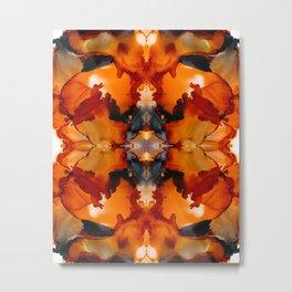 Halloween Mists Kaleidoscope Metal Print