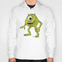 monsters inc Hoodies featuring Monsters, Inc. | Mike Wazowski by Brave Tiger Designs