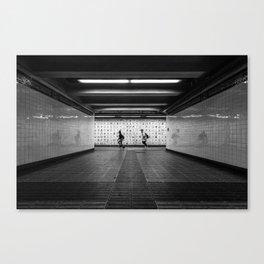 Canal Street Subway Canvas Print