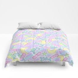 PASTEL FXXK Comforters