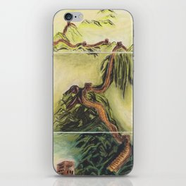 Great Wall Triptych iPhone Skin