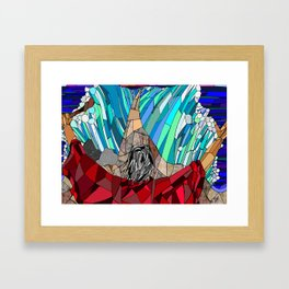 Moses Parting the Red Sea Framed Art Print
