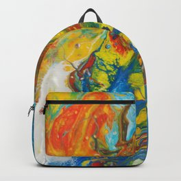 Flying Free in the Heat of the Day Backpack