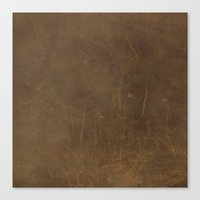 leather Canvas Prints featuring Leather by Patterns and Textures