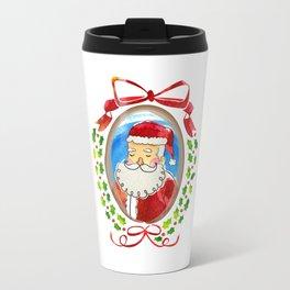 Santa's Frame Travel Mug
