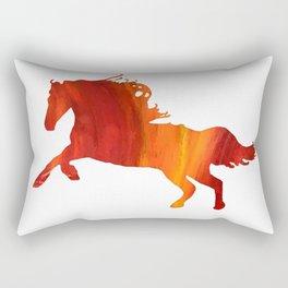 Horse Wild Spirit Rectangular Pillow