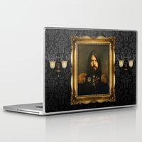 foo fighters Laptop & iPad Skins featuring Dave Grohl - replaceface by replaceface