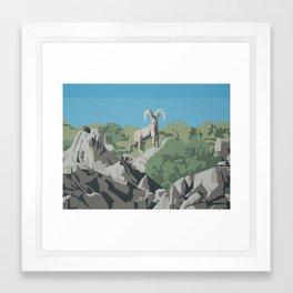 Sierra Nevada Bighorn Framed Art Print