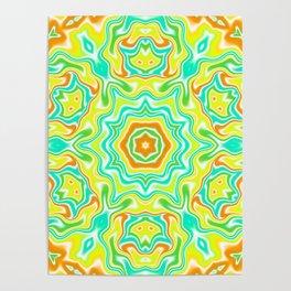 Summer Kaleidoscope 3 Poster