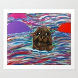 The Colorful Ocean Art Print