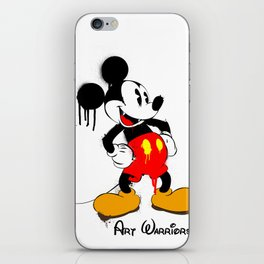 Mickey The Warrior Mouse iPhone Skin