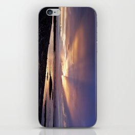 Beams of Light across the Sky iPhone Skin