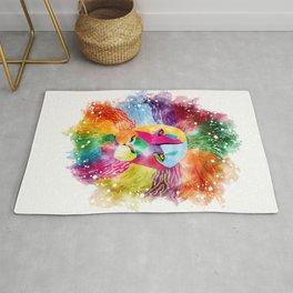 Rainbow Lion Rug