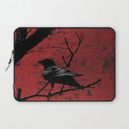 Crow Rust Industrial Red A673 Laptop Sleeve