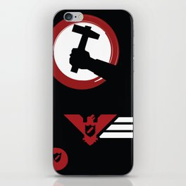 Labor (papers, please) iPhone Skin
