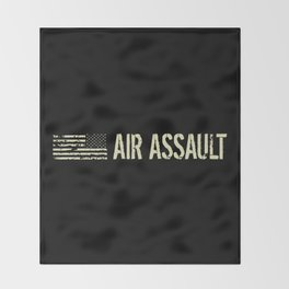 Black Flag: Air Assault Throw Blanket