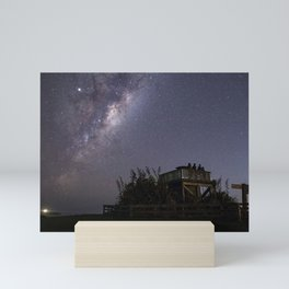 Stargazing in Shakespear Park Mini Art Print