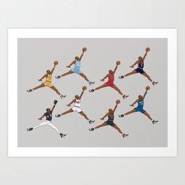 GOAT Evolution Art Print