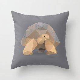 Giant Tortoise.  Throw Pillow