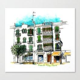 Ibiza - Vara de Rey Canvas Print