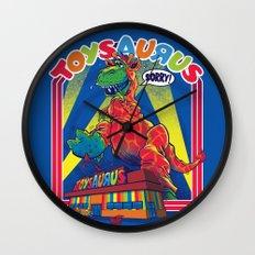 TOYSAURUS Wall Clock