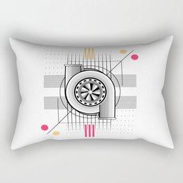 Turbo engine Rectangular Pillow