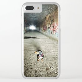 Light at the End Clear iPhone Case