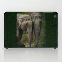 elephants iPad Cases featuring Elephants  by Guna Andersone & Mario Raats - G&M Studi
