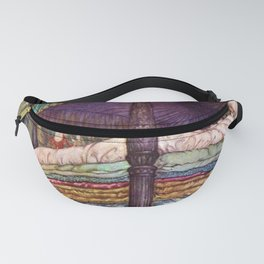 Princess and the Pea By Edmund Dulac Fanny Pack