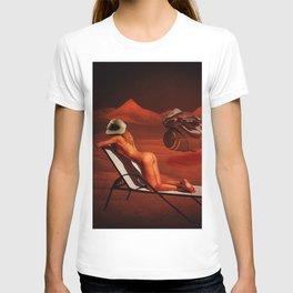 Quiverish Space Lounge 2 T-shirt