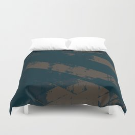 Abstract_Blue Duvet Cover